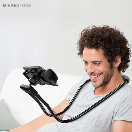 هولدر نگهدارنده گردنی و مونوپاد Baseus Necklace Lazy Bracket