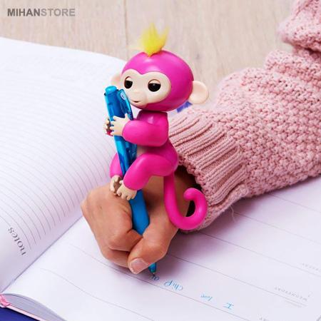 ربات و عروسک میمون بند انگشتی Fingerlings Interactive BabyMonkey 2020