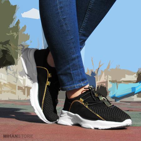 کفش اسپرت دخترانه کراش Crash رنگ مشکی