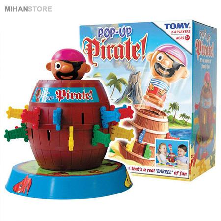 بازی دزد دریایی شمشیر زن Barrel Pirate Lucky Game 2020