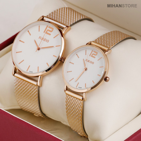 ست ساعت مچی رادو لیست Rado طرح Lyst Rado Lyst Men & Women Watch Set