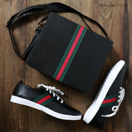 ست کیف و کفش دخترانه گوچی Gucci 2019