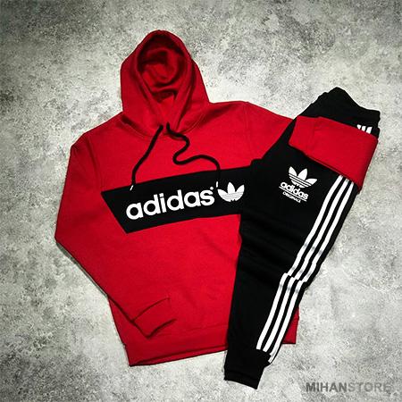 ست سوئیشرت و شلوار آدیداس Adidas طرح نیگو Nigo