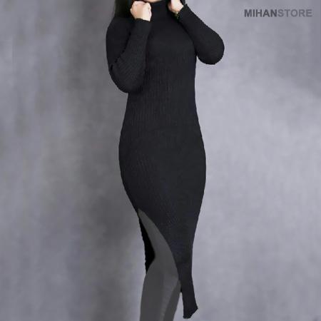 زیر مانتویی بافت گپ مشکی Sweater GAP For Women 2020