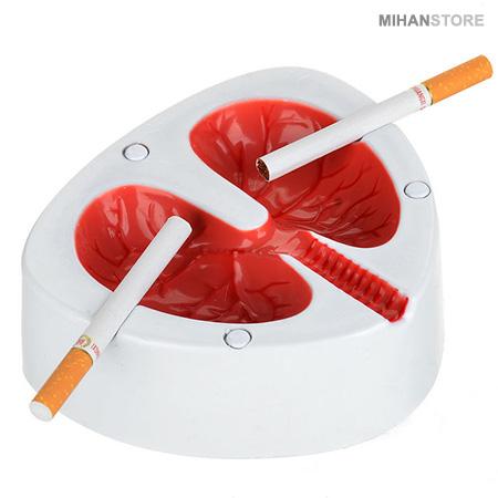 زیر سیگاری طرح ریه Ashtray