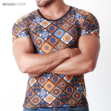 تی شرت مردانه هاوایی طرح لوح Hawaii LOHH Men Tshirt