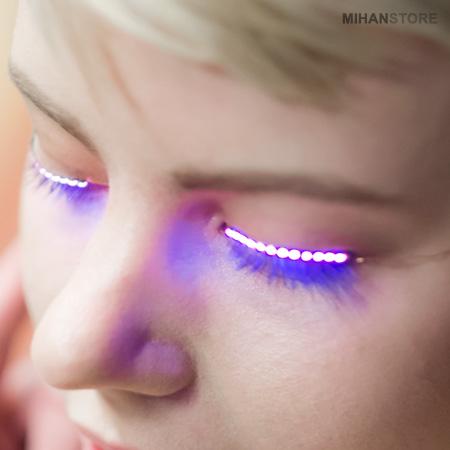 مژه درخشان LED