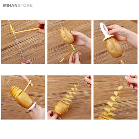 دستگاه فرچیپس سیب زمینی دستی