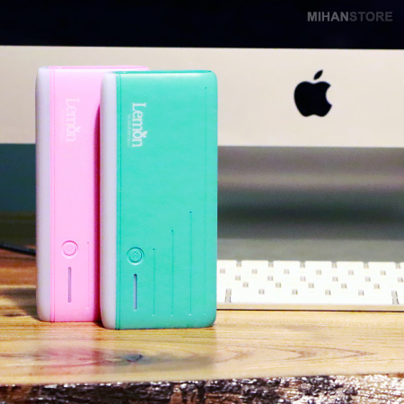پاوربانک لمون اصل Lemon 8000mAh Power Bank 2020