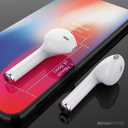 هندزفری بلوتوثی طرح اپل ایرپاد Airpods i7S TWS اصل رنگ سفید 2019