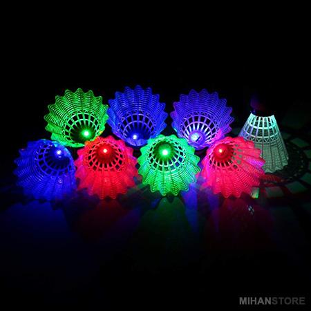 توپ بدمینتون چراغ دار 4 تایی بایزن BAIZAN