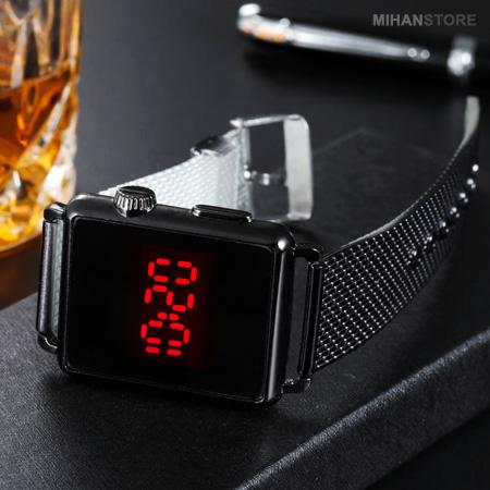 ساعت ال ای دی صفحه لمسی طرح اپل LED Watch TouchScreen Apple 2020