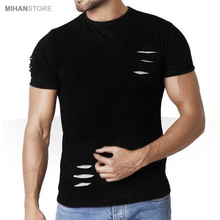 تي شرت مردانه زاپ دار Tear Up