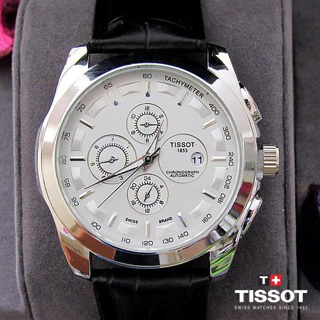 عکس محصول ساعت تیسوت بند چرم - مدل T1853